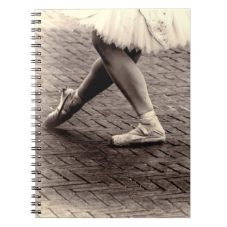 Photo of Ballet Slippers Spiral Notebook