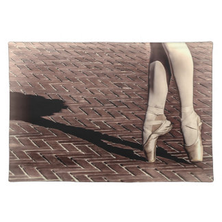 Photo of Ballet Slippers Cloth Placemat