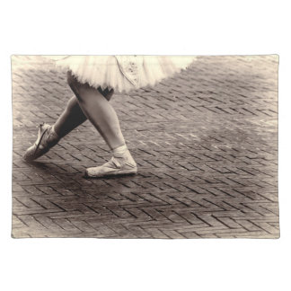 Photo of Ballet Slippers Place Mats