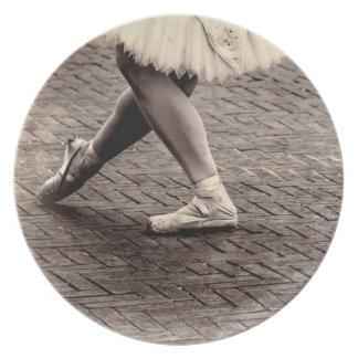 Photo of Ballet Slippers Dinner Plates