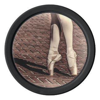 Photo of Ballet Slippers Set Of Poker Chips