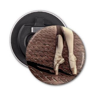 Photo of Ballet Slippers Button Bottle Opener