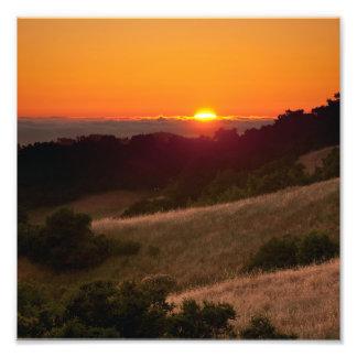 Photo of beautiful California sunset