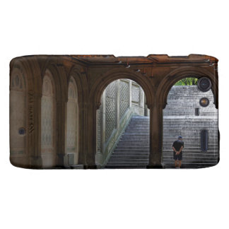 Photo of Bethesda Terrace in Central Park, NYC Motorola Droid RAZR Cover