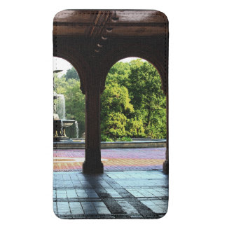 Photo of Bethesda Terrace in Central Park, NYC Galaxy S5 Pouch