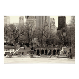 Photo of Bethesda Terrace in Central Park, NYC