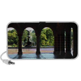 Photo of Bethesda Terrace in Central Park, NYC Speakers