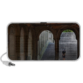 Photo of Bethesda Terrace in Central Park, NYC iPod Speaker