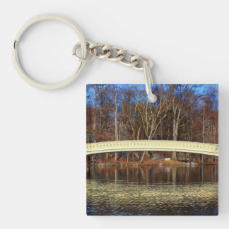 Photo of Bow Bridge in Central Park, New York Key Chains
