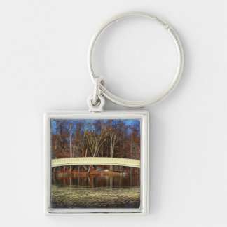 Photo of Bow Bridge in Central Park, New York Key Chain