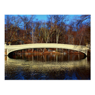 Photo of Bow Bridge in Central Park, New York Postcard