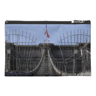Photo of Brooklyn Bridge, New York City Travel Accessory Bag