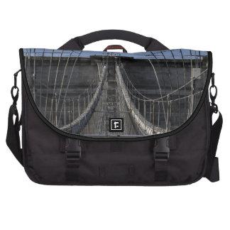 Photo of Brooklyn Bridge, New York City Bag For Laptop