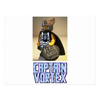 Photo of Captain Vortex Custom Minifigure Postcard