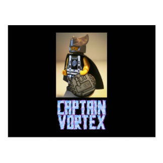 Photo of Captain Vortex Custom Minifigure Postcard