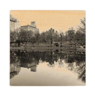 Photo of Central Park Landscape Wooden Coaster