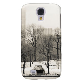 Photo of Central Park Winter Landscape Galaxy S4 Cases
