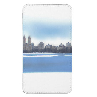 Photo of Central Park Winter Landscape Galaxy S5 Pouch