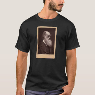 Photo of Charles Darwin Front and Back Apparel T-Shirt