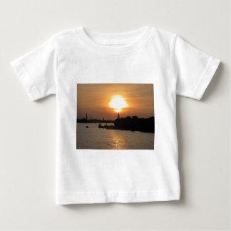 Photo of dramatic Sunset in Venice laguna, Italy Baby T-Shirt
