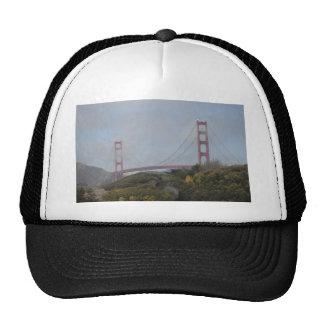 Photo of Golden Gate Bridge on a Sunny Day Trucker Hat