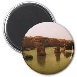 PHOTO of  Hasankeyf  southeastern Turkey 2 Inch Round Magnet