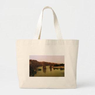 PHOTO of  Hasankeyf  southeastern Turkey Tote Bags