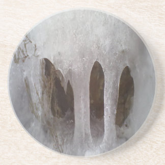 Photo of ice sandstone coaster