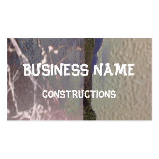 Photo of lake with Texture Business Card