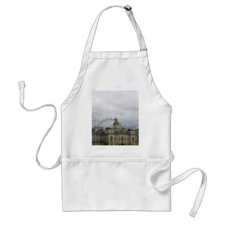 Photo of London with London eye in background Aprons
