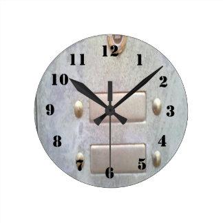 Photo of Metal Round Clock