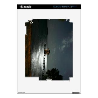 Photo of Moonlit Belize Cabana Decals For iPad 3