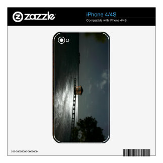 Photo of Moonlit Belize Cabana iPhone 4S Decal