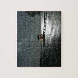 Photo of Moonlit Belize Cabana Jigsaw Puzzle