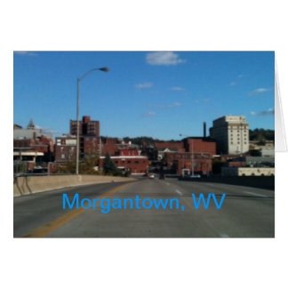 Photo of Morgantown WV skyline cards