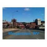 Photo of Morgantown WV skyline postcards
