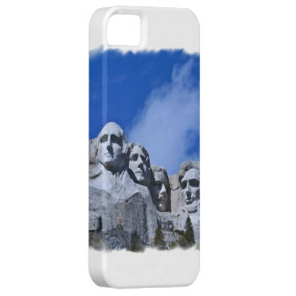 Photo of Mt. Rushmore Presidents Monument iPhone SE/5/5s Case