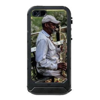 Photo of New York City Street Sax Player Waterproof iPhone SE/5/5s Case