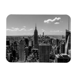 Photo of New York City with Empire State Building Flexible Magnets