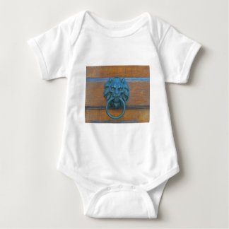 Photo of rustic door decoration in Italy, Europe Baby Bodysuit