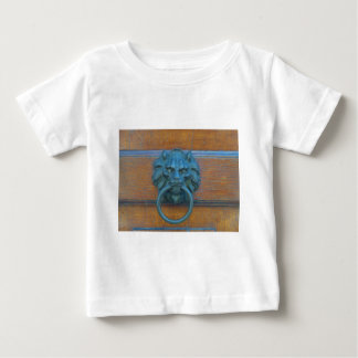 Photo of rustic door decoration in Italy, Europe Baby T-Shirt