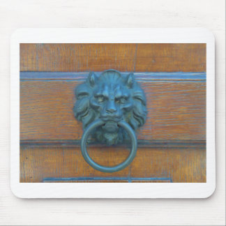 Photo of rustic door decoration in Italy, Europe Mouse Pad