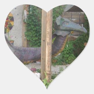 Photo of Samantha the Dragon Heart Sticker