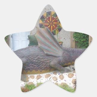 Photo of Samantha the Dragon Star Sticker