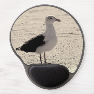 Photo of Seagull on Coney Island Beach Gel Mouse Mat