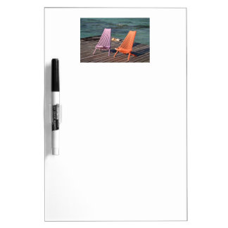 Photo of seaside chairs Dry-Erase board