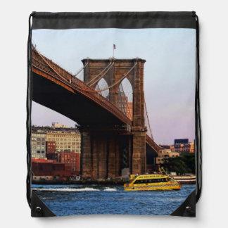 Photo of the Brooklyn Bridge in NYC Backpacks
