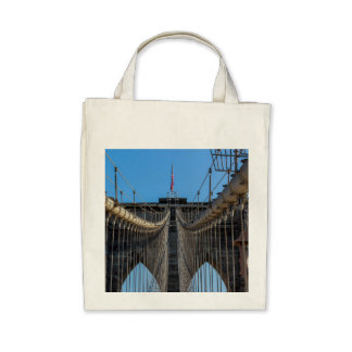 Photo of the Brooklyn Bridge in NYC Bag