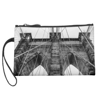 Photo of the Brooklyn Bridge in NYC Wristlets
