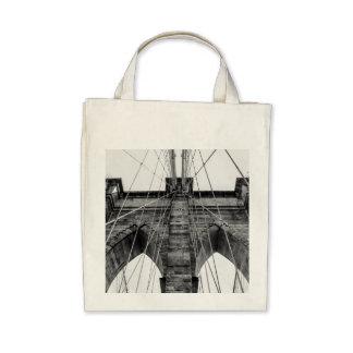 Photo of the Brooklyn Bridge in NYC Bags